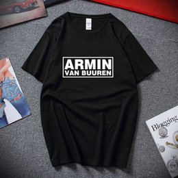 t shirt printing more Australia - Armin Van Buuren Printed Trance Mens T Shirt Asot House Music Ibiza Rave Dj Tee Tshirt Tee Shirt Colors More Size And Unisex