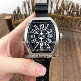 new collection watches NZ - NEW Men's Collection V 45 SC DT Yachting Mens Automatic Watch Black Dial Black Rubber Strap High Quality Luxury Gents Sport Watches
