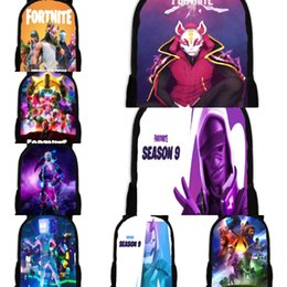 cartoon demons NZ - Bag Slayer Cosplay Backpack Cartoon Student fortress night School Demon Shoulder Casual Teentage Laptop Travel fortnite Bags Gift TTAT i30Ex