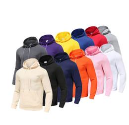 Wholesale red hoodie for sale - Group buy Mens clothing Hoodie Light Fleece Sweatshirts Fashion Printed Hooded Pullovers Colors Street Style Mens Sportswear
