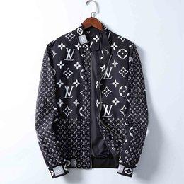 Wholesale mens nylon bomber jacket for sale – winter Jacket Men Fashion Casual Loose Mens Jacket Sportswear Bomber Jacket Mens jackets and Coats Plus Size M XL