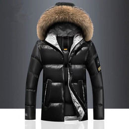 Wholesale jacket clothes resale online – Brand Winter Men s Coats Warm Thick Male Jackets Windproof Fur Hooded Parkas Men Overcoats Mens Outwear Clothing XL