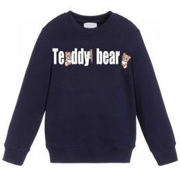 Großhandel Kinderkleidung Sweatshirts Kind Mode Buchstabedruck Hoodies beiläufige Sweatshirts Jungen Mädchen Mode Sweatshirts Baby Kleidung