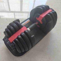 Großhandel Einstellbare Hantel 2.5-24kg Fitness Workouts Hanteln Gewichte Bauen Sie Ihre Muskeln Sport Fitness Ausrüstung Ausstattung ZZA2196 Sea Shipping