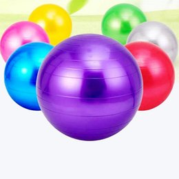yoga products NZ - Fitness ball yoga ball 45cm children thickening explosion-proof authentic products