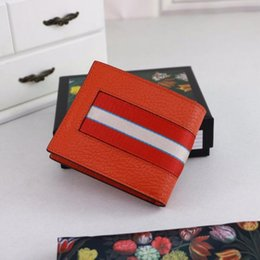 money box best Canada - Classic Best Cardholder With Box Brand Genuine Square Leather Purse Women Money Wallet L408827