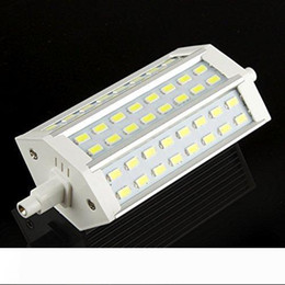 dimmable energy saving bulbs NZ - Dimmable R7S 118mm 48 LED 5730 SMD White Warm White Energy Saving Floodlight Corn Light Replace Lamp Bulb 85-265V