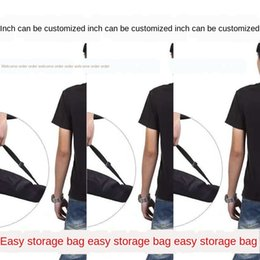 tripod shoulder UK - Photography shoulder tripod live broadcast bracket shoulder thickened 35-125 storage bag tripod lamp holder storage bag