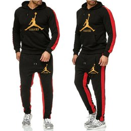 Wholesale sportswear sweater pants resale online – Jordàn mens Sweater suits Brand tracksuits mens sweatsuit sports suit women jogging jacket sweatshirt set and pants Mens hoodie sportswear