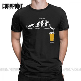 purple drank t shirt Australia - Man Week Craft Beer T Shirts 100% Cotton Drunk Tee Alcohol Drinking Clothes Funny Humor Graphic Short Sleeve Big Size T-Shirt
