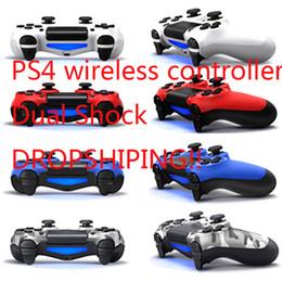 CHOC 4 Wireless Controller TOP qualité pour Gamepad PS4 Manette de jeu avec le paquet au détail LOGO Game Controller gratuit HK Livraison postale en Solde