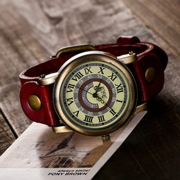 womens wrist band watches Australia - 2019 Hot CCQ Womens Casual Retro design Watch Quartz Leather Band New Strap Analog Wrist Watch Dress Reloj de dama Wd3sea2