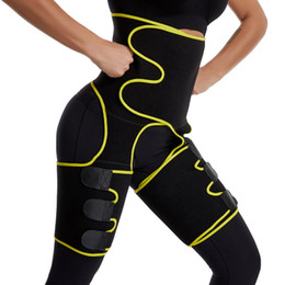 Wholesale shapers for sale - Group buy Waist Leg Trainer Women Thigh Trimmer Leg Shapers Slender Slimming Belt Neoprene Sweat Slim Shapewear Toned Muscles Slimmer Wrap MX200711