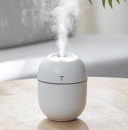 car atomizer Australia - 200ml Aroma Essential Oil Diffuser Ultrasonic moisturizing atomizer mini Car Essential Humidifier Air Aromatherapy humidifier for Office Hom
