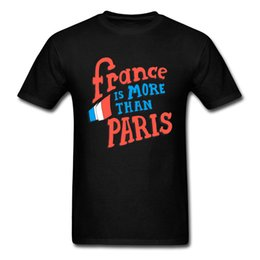 t shirt printing more Australia - France Is More Than Paris Men Letter Funny T-Shirt Black Print Saying Male Travel T Shirt Breathable Clothing 100% Cotton 3xl