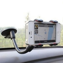 suction cups phone holder Australia - utomobiles & Motorcycles Universal Double-headed Car Windshield Suction Cup Type Mobile Phone Holder Adjustable Angle For Car Navigation ...
