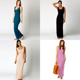 stylish maxi dresses sleeves UK - Women Summer Dresses Sleeveless Clothes Stylish Maxi Dress Casual Long Dress Short Sleeve Backless Lady Party Clothing Drop Ship#648