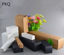 box for jar cream UK - 10pcs Small Blank White Black Kraft Paper Box For Face Cream Cosmetic Jar Jewelry Storage Gift Boxes 5x5x5cm 6x6x6cm 4x4x6cm iiL7#