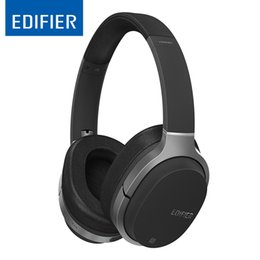 black computer game Australia - Edifier W830bt Hifi Stereo Bluetooth 4.1 Wireless Noise Isoliation Headset For Music Computer Game With Microphone T6190610