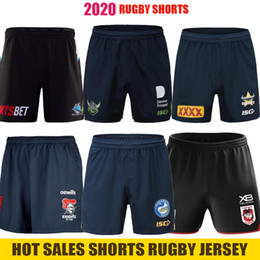 venda por atacado Natinoal Rugby League Jerseys 2020 calções Parramatta Eels Manly Canberra Cowboys Cronulla Sharks cavaleiros Penrith Panthers st george Rugby