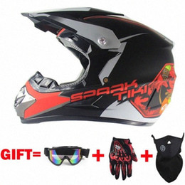 dirt bikes racing UK - Motorcycle Motocross Off Road Helmet ATV Dirt Bike Downhill MTB Racing Capacetes With 3 Gift Dv8Z#