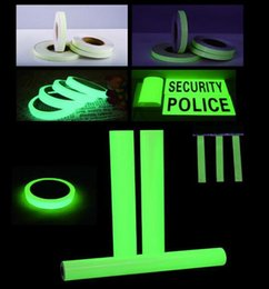 tape glow NZ - 15mm x 3M Roll Luminous Tape Self-adhesive Glow In The Dark Safety Stage Home Decorations Warning Tape 2016