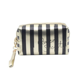 cosmetics dropshipping UK - Letters Dropshipping Portable New Women PU Lady Cosmetic Bag Fashion Make Up Bag Small Clutch Hot sell Cute Mini