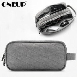 set gadget Australia - ONEUP Travel Gadget Organizer Bag Portable Digital Cable Bag Electronics Accessories Storage Carrying Case Pouch USB Power Phone SjYM#