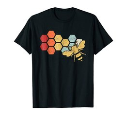 vintage honey Australia - Vintage Beekeeper Beekeeping Honey Funny Bee Black T-Shirt S-3XL