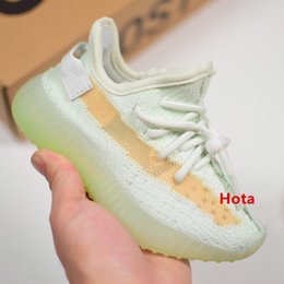 discount kanye west shoes UK - running designer Discount shoes kids kanye west wave runner 3m reflective kid trainers boy girl sneakers children athletic shoes 26-35