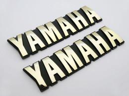 Yamaha Kümesi için Motosiklet 3D ABS'nin 125mm Yakıt Gaz Tankı Badge Emblem Decal Sticker