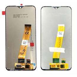 motorola lcd Canada - Lcd Display Digitizer Assembly for Samsung Galaxy A01 A015 A015F A015G A015M Replacement Parts No Frame Black