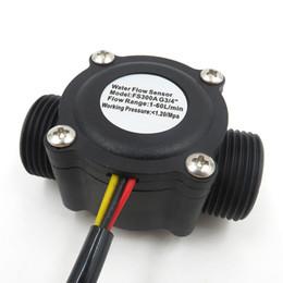 """Su Akış Sensörü Flowmetre Siyah Akış Sensörleri G3 / 4"""" Endüstriyel Su Akışı Ölçer FS300A Boru Hattı Flowmetre Şofben Havuzlar için"""