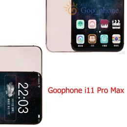 Wholesale Goophone 11 Pro Max 20U WCDMA 3G Quad Core 1GB RAM 16GB ROM Show 512GB 4G lte 3G GPS Wifi Unlocked Mobile phone