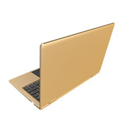 Wholesale touch screen laptops resale online - 11 inch Touch screen Gold color Laptop computer Metal case G G ultra thin fashionable style Netbook PC professional factory OEM service
