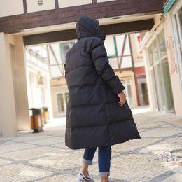 Wholesale korean parka coat men for sale – warmest winter Long Duck Down Jacket Men Winter Coat Plus Size Warm Puffer Jacket Men Korean Overcoat Parka Doudoune Homme KJ2637