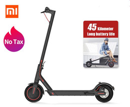 Xiaomi Mijia M365 Pro Elektroroller Smart-E-Roller Skateboard Hoverboard Longboard 2 Rad patinete Erwachsener 45km Batterie im Angebot