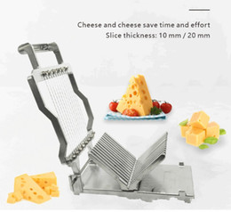 multi slicer Australia - Multi-Function Slicer Steel Fruit Ham Kitchen Gadget Meat Slicer Egg Cutting Machine Stainless Cheese Slicer For Home