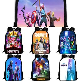 women canvas lace backpacks UK - ladies for Multi-pocket girls canvas bags women fortnite student stitching bags female fashion backpack fortress night travel backpacks WBIgz