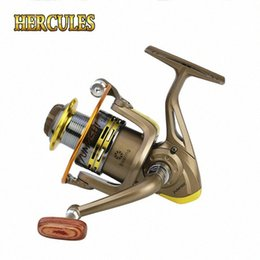 body bait UK - Hercules Fishing Reals Aluminum Body Spinning Reel High Speed G-Ratio 5.2:1 Fishing Reels with 12 Ball Bearings Fish Tools NsTP#