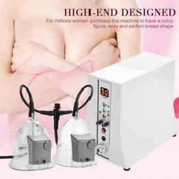 Discount plug machine New Fashionable Breast Enlargement Butt Enhancement Vacuum Therapy Body Massage Machine US EU Plug