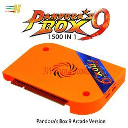 venda por atacado caixa de Pandora 9 1500 em 1 de arcada tabuleiro de jogo jamma saída HDMI VGA HD 720P para 5s arcada máquina de arcade gabinete de Pandora 6s 7