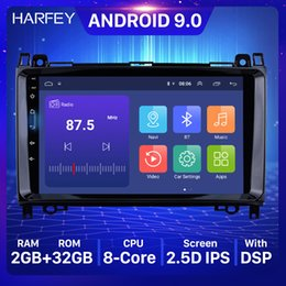 "mercedes benz car radio Canada - Harfey 9"" radio 2Din GPS Car Multimedia Player Android 9.0 For Mercedes Benz B W245 B150 B160 B170 B180 B200 B55 2004 2005-2012"