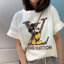 Wholesale rainbow shirts online – design Designers Fashion Rainbow printing Design T Shirts Mens G Womens Short Sleeve Cotton Homens brand shirts Breathable Womans top Tee
