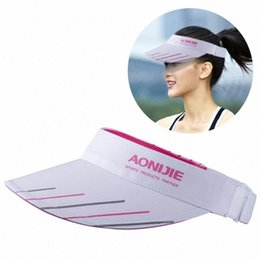 running hats for men UK - New Adjustable Men Women Sun-Protective Hat With Wide Brim Ultraviolet-proof Cap Visor Cap For Fishing Marathon Running Cycling AKib#