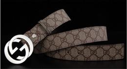 2020 Мода KK Конструкторы Ремни Роскошные пояса Человек женщина пояса вскользь Letters Smooth GUCCI G пряжка с коробкой на Распродаже