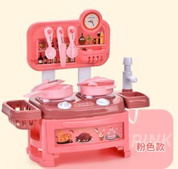 toy tool sets for kids Australia - Simulation 02 Girls Set Pretend Play Kids Diy Delicacy Cooking Educational Toys Gift Play For Tools Boys Kitchen And Toys Cooking Armdl