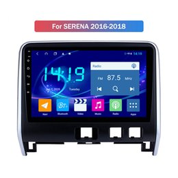 nissan android gps dvd UK - Car Multimedia Player Android 9.0 Head Unit For Nissan SERENA 2016 2017 2018 AutoRadio GPS Navigation No DVD