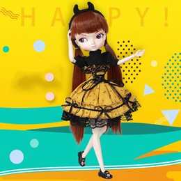 sd toy NZ - 35cm 1 6 Bjd Sd Bbgirl Doll Toys High Quality Joints Dolls Diy Girl Dolls Toys Birthday Gifts For Child Children CX200715