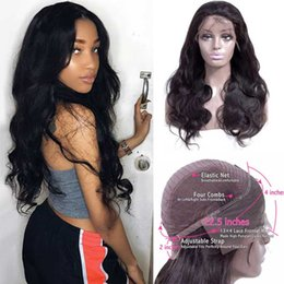 lace wigs wholesale UK - Body Wave Wig Lace Front Human Hair Wigs Preplucked 180 Density Wet And Wavy Lace Front Wig Remy 13X4 Lace Frontal Brazilian Wig